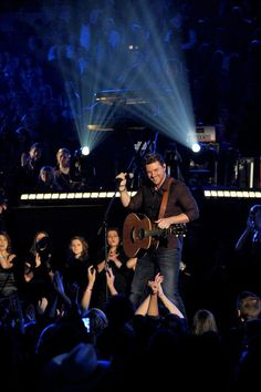 "He's tearing up the country charts - and now the Katie stage!! Chris Young sings ""I Can Take It From There"" on the show today!"