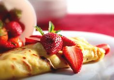Gluten Free and dairy Free Crepes