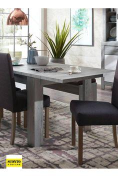 Praktický a moderní jídelní stůl. Rozkládací funkce. Odolný a snadno udržovatelný materiál. Rozměrny desky stolu (Š x H): 180 x 90 cm Dining Table, Furniture, Home Decor, Decoration Home, Room Decor, Dinner Table, Home Furnishings, Dining Room Table, Home Interior Design
