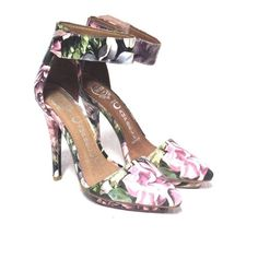 #JeffreyCampbell Solitaire #Floral #Pumps #Leather #Ankle-#Strap Size 5.5 | #eBay https://www.ebay.com/itm/222901309251 #forsale #cute #Fashion #stylish  #eBay #sale #sales #instagood #instalikes #ebaysales #ebayseler #shopping #love #ebaycommunity @eBay