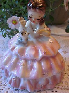 Josef-Originals-Early-California-Girl-Figurine-Excellent
