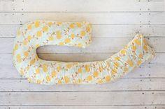 Bump Nest Body Pillow - Golden Bloom