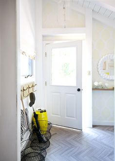Before and After! Sarah Dorsey Design's Entryway Makeover