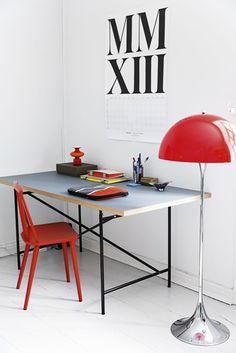 kreative kontorer on pinterest home office inspiration. Black Bedroom Furniture Sets. Home Design Ideas
