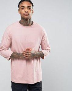 ASOS Oversized 3/4 Sleeve T-Shirt