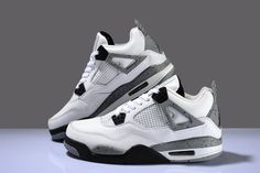 Authentic Jordan shoes jordan basketball shoes Air Jordan four generations of female models men's sneakers aj4 from taobao