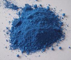 Descoberto um novo pigmento azul!