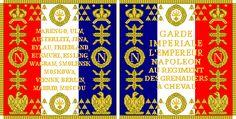 Bandiera di guerra del rgt. granatieri a cavallo della guarda imperiale francese