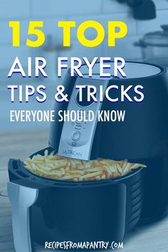 These 15 Best Air Fryer Tips make cooking delicious dishes in your Air Fryer easier, efficient and more fun! Whether you're new to the world of air frying or a seasoned pro, you'll want to keep these tips on hand for quick reference. Post also includes my favourite and most popular Air Fryer Recipes. Click through to get the super helpful air fryer tips!! #airfryer #airfryertips #airfryerrecipes #airfriedfoods Air Fryer Recipes Chips, Air Fryer Recipes Appetizers, Air Fryer Recipes Vegetables, Air Fryer Recipes Breakfast, Air Frier Recipes, Air Fryer Dinner Recipes, Grilling Recipes, Cooks Air Fryer, Air Fryer Review