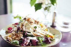 Healthy treat Insalata Insolita at Zia Teresa Restaurant