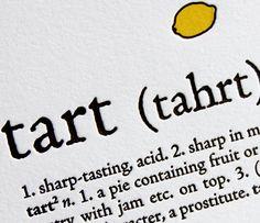 letterpress kitchen definitions