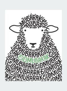 Sheep Mubarak Card: Keep loved ones close by sending an Eid Mubarak card this… Carte Eid Mubarak, Eid Adha Mubarak, Eid Mubarak Quotes, Eid Mubarak Card, Eid Mubarak Greeting Cards, Happy Eid Mubarak, Eid Mubarek, Eid Al Adha Greetings, Eid Crafts