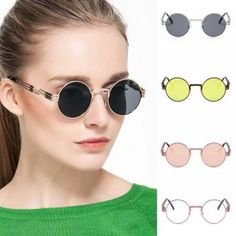 Wholesale round sunglasses from China, great deal on oval frame, cheap and reliable shipping without any minimum order requirement. Oversized Round Sunglasses, Oval Frame, Style Icons, Shape, Celebrities, Fashion, Moda, Celebs, Fashion Styles