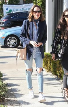 Louise Roe Out and About in West Hollywood