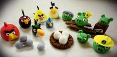 Angry Birds cupcakes so amazing you wouldn't want to eat them