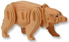 3-D Wooden Puzzle - Polar Bear -Affordable Gift for your Little One! Item #DCHI-WPZ-M023 All4LessShop,http://www.amazon.com/dp/B004QDTNDC/ref=cm_sw_r_pi_dp_tpYDtb0HFN400F4F