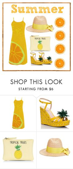 """Untitled #6"" by valeria-syomina on Polyvore featuring Kate Spade, New Look and Federica Moretti"