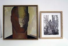 """© Alain Staehlin """"Inventaire"""", Vanina Langer, encre sur papier."""
