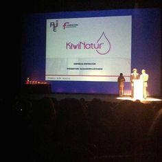 Premios AJE Asturias 2014 AJE Junior Kiwinatur