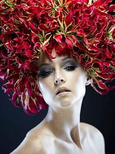 Gloriosa Headpiece: please give me an excuse to do this!