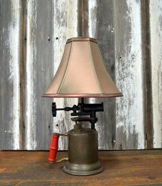 Vintage Brass Blow Torch Table Lamp by RusticReworks on Etsy