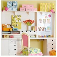 Finding Inspiration: Craft Room/Guest Bedroom Ideas