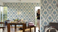 """blau und klassisch, Tapete für jeden Raum, Kollektion """"Luxury Wallpaper"""", Architects Paper Tapete 324222"""