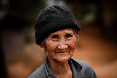 https://flic.kr/p/7TJTue | Old Thai woman, near Chiang Rai | I met this old woman while trekking around Mae Salong, a few hours from Chiang Rai (a Chinese village, not far from the Burma border in the Golden Triangle).  Of course she does not speak English.. but even if we just said 'hello' to each other, I asked her for a photo : I'm glad I did.