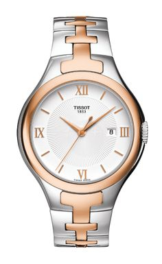 Discover all Tissot® novelties with watches for men and women on the Official Tissot Website. Choose your watch - find a store – keep in touch. Big Watches, Cool Watches, Watches For Men, 316l Stainless Steel, Stainless Steel Bracelet, Audemars Piguet, Rey, Gold Watch, Bracelet Watch