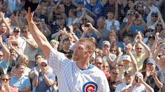 May 18, 2012  Kerry Wood strikes out Dayan Viciedo and retires.  Class act and one of my favorite Cubs of all time.