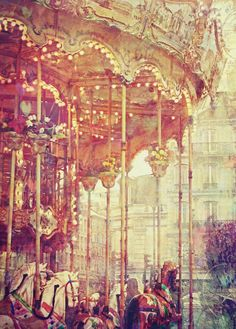 My perfect utopia would have a carousel.