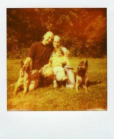 Polaroid 610 Amigo Land Camera, PX 680 Impossible film