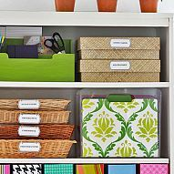 DIY: Reorganized Shelves and Free Printable Labels