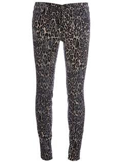 J BRAND - Leopard print jean.