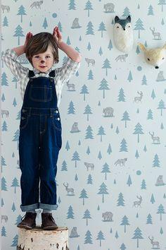 Med skogen på väggen - HELLO KIDDO!