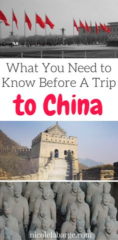 Everything you need to know before you go to China.  What to see, what to do, and where to stay, plus a few tips.  #china #beijng #shanghai
