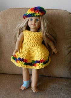 American Girl Free Pattern Downloads | PATTERN in PDF -- Crocheted ... | 322x235