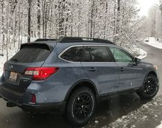 Just installed new wheels and tires prior to White Death which hit the southeast on Friday. No rubbing, a little additional road noise over factory. Subaru Outback Lifted, Subaru Outback Offroad, 2011 Subaru Outback, Lifted Subaru, Wheels Of Fire, Wheels And Tires, 2017 Outback, Impreza Rs, Yamaha Mt07