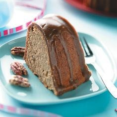 Heavenly Praline Cake Recipe- Recipes  A moist cake and generous frosting are filled with the fabulous flavor of caramel. The candied pecans are almost a dessert by themselves!—Jennifer Rodriguez, Midland, Texas