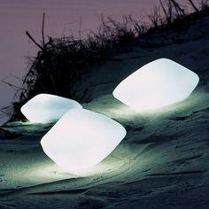 Stones Outdoor Lamps, Lights & Oluce Stones Outdoor Lamps   YLighting