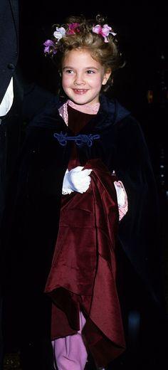 Pin for Later: So liefen die Stars zum ersten Mal über den roten Teppich Drew Barrymore, 1982