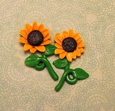 Sonnenblume Ohrstecher