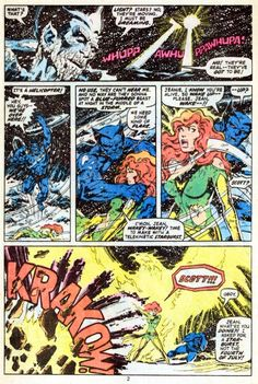 X-Men #114, page 2 by John Byrne & Terry Austin & Glynis Wein. 1978.