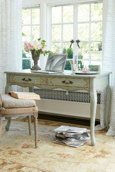 Amelie Writing Desk/table De Toilette - Feminine Desk, Antique Writing Desk, Antique Vanity | Soft Surroundings