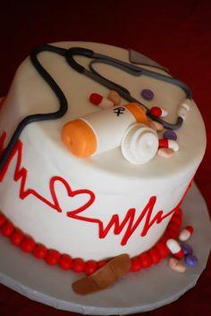 nursing school graduation cake - Google Search