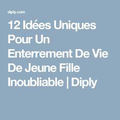 12 Idées Uniques Pour Un Enterrement De Vie De Jeune Fille Inoubliable | Diply Young Living, Bridal Shower, Weddings, Cabbages