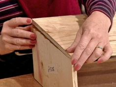 These steps from DIYNetwork.com demonstrate how to make a wooden cornice board for a window in your home.