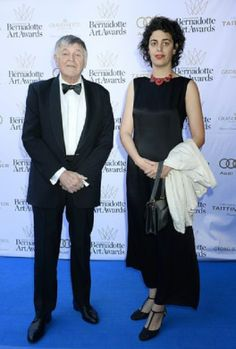 Prince Nicholas of  Montenegro with daughter Princess Althina attends the Bernadotte Art Awards, Grand Hotel, Stockholm, 2014-06-02