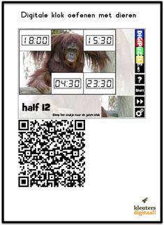 Oefen met klokkijken Leeftijd: 4 – 99 jaar Prijs: gratis Download voor iPhone/iPad, Android & Windows De QR Codes QR codes zijn eigenlijk een soort streepjescodes. Deze streepjescodes worden door een QR code reader gelezen. Ik maak hierbij gebruik van de app I-nigma. Als je meer wilt lezen over hoe de app I-nigma werkt lees …