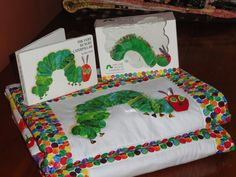 Very Hungry Caterpillar Children's Quilt OOAK by grannysbabyquilts, $145.00  Looks like a pattern is out there somewhere